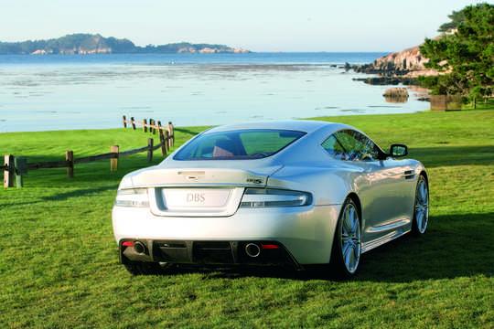 Back/Side of Aston Martin DBS 2008