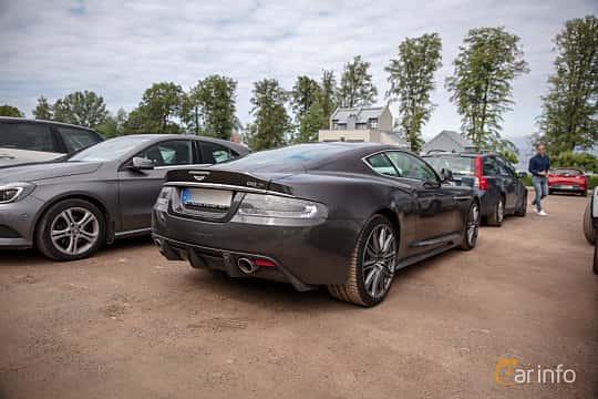 Back/Side of Aston Martin DBS 5.9 V12 Automatic, 517ps, 2011 at Rolls-Royce och Bentley, Norrviken Båstad 2019