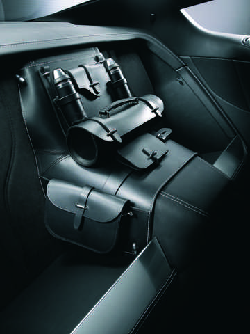 Interior of Aston Martin DBS 5.9 V12 Manual, 517hp, 2008