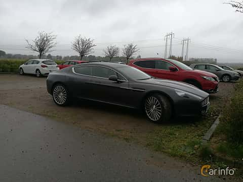Side  of Aston Martin Rapide 5.9 V12 Automatic, 477ps, 2012