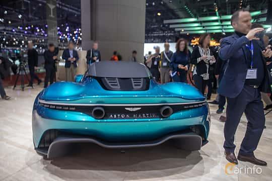 Back of Aston Martin Vanquish Vision Concept Concept, 2019 at Geneva Motor Show 2019