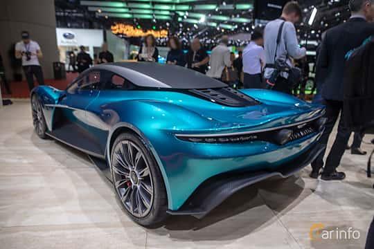 Bak/Sida av Aston Martin Vanquish Vision Concept Concept, 2019 på Geneva Motor Show 2019