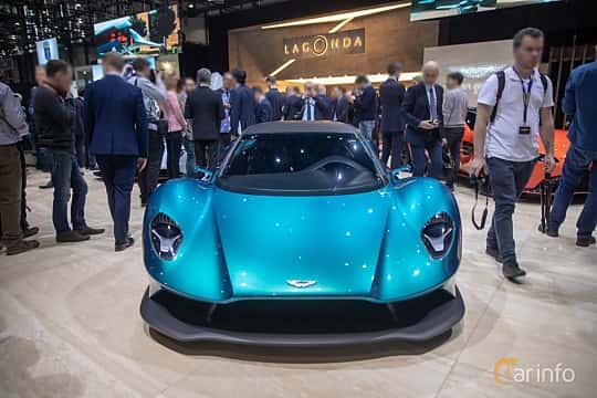 Front  of Aston Martin Vanquish Vision Concept Concept, 2019 at Geneva Motor Show 2019