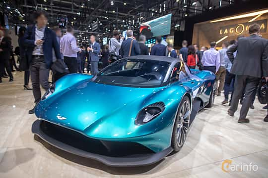 Front/Side  of Aston Martin Vanquish Vision Concept Concept, 2019 at Geneva Motor Show 2019