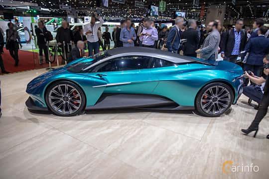 Side  of Aston Martin Vanquish Vision Concept Concept, 2019 at Geneva Motor Show 2019