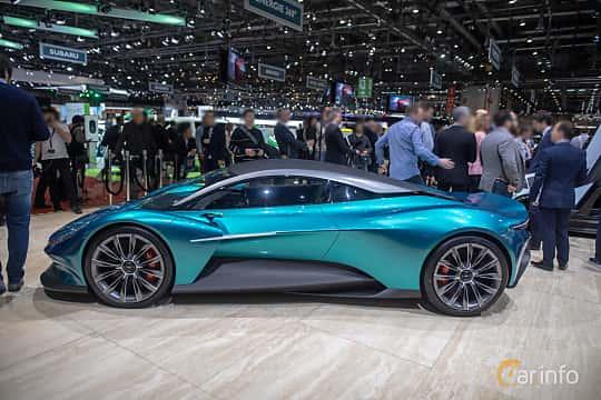 Sida av Aston Martin Vanquish Vision Concept Concept, 2019 på Geneva Motor Show 2019
