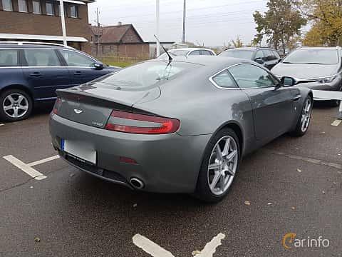 Back/Side of Aston Martin V8 Vantage 4.3 V8 Manual, 385ps, 2006