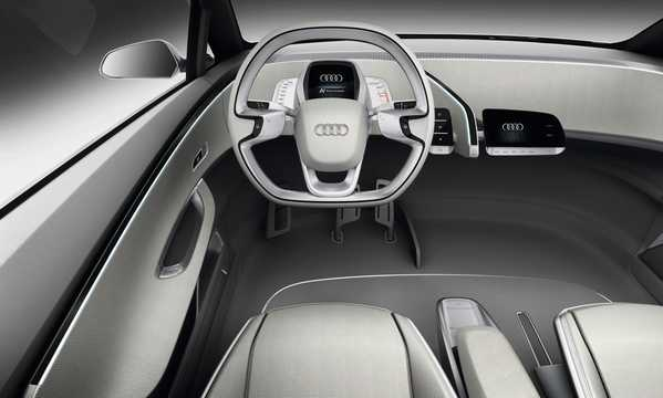 Interior of Audi A2 31 kWh Single Speed, 116hp, 2011
