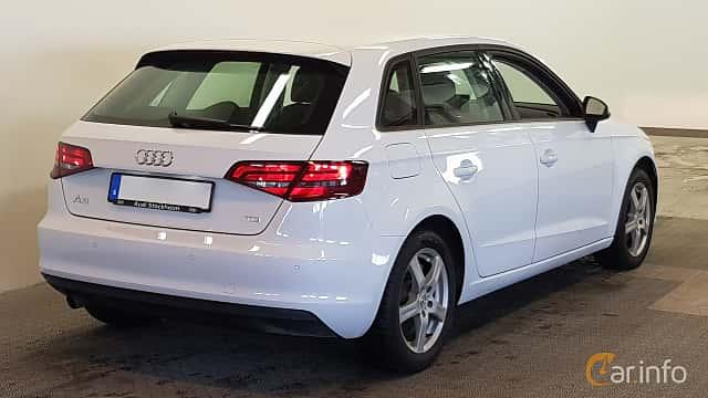Bak/Sida av Audi A3 Sportback 1.6 TDI  S Tronic, 105ps, 2014