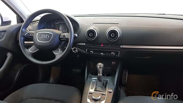 Interiör av Audi A3 Sportback 1.6 TDI  S Tronic, 105ps, 2014