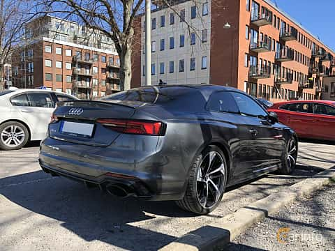 Back/Side of Audi RS 5 Coupé 2.9 V6 TFSI quattro TipTronic, 450ps, 2018