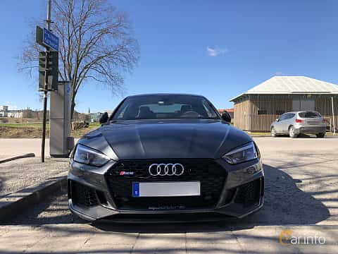 Front of Audi RS 5 Coupé 2.9 V6 TFSI quattro TipTronic, 450ps, 2018