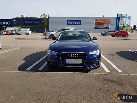 Front  of Audi A5 Sportback 2.0 TFSI quattro S Tronic, 211ps, 2012