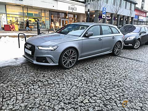 Front/Side of Audi RS 6 Avant 4.0 TFSI V8 quattro TipTronic, 560ps, 2015