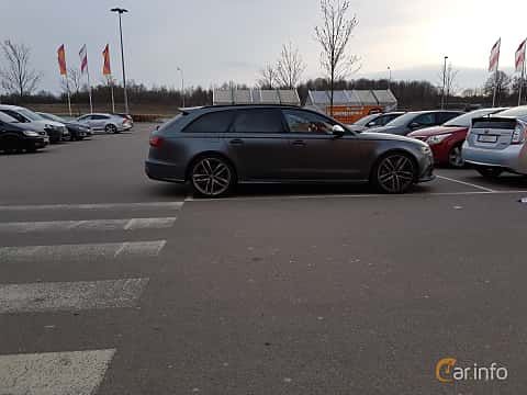 Side of Audi RS 6 Avant 4.0 TFSI V8 quattro TipTronic, 560ps, 2014