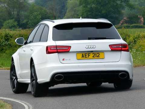Back/Side of Audi RS 6 generation C7, TipTronic, 8-speed