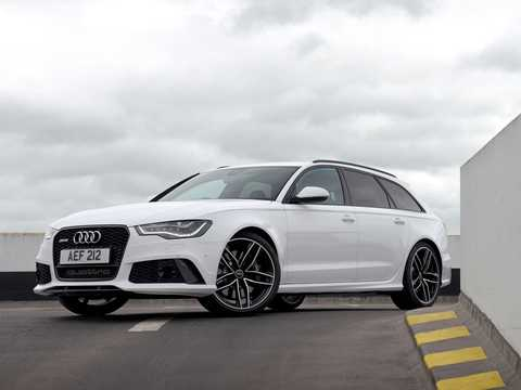 Front/Side  of Audi RS 6 generation C7, TipTronic, 8-speed