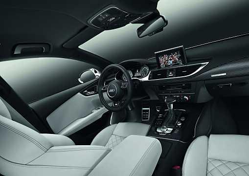 Interior of Audi S7 Sportback 4.0 TFSI V8 quattro S Tronic, 420hp, 2012