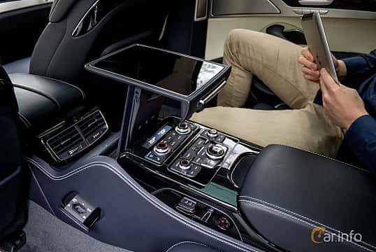 Interior of Audi A8 L W12 6.3 W12 FSI quattro TipTronic, 500ps, 2012