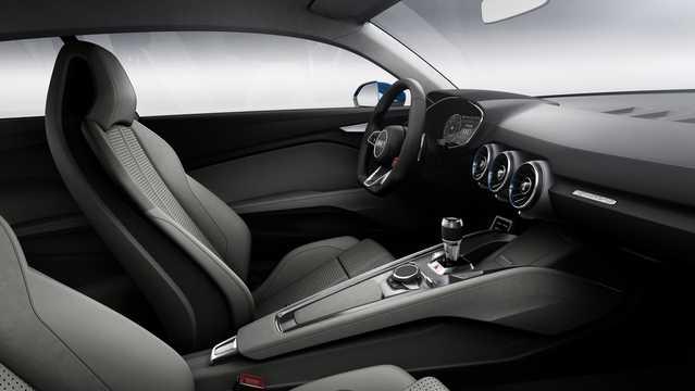 Interior of Audi allroad shooting brake 2.0 TFSI + 8.8 kWh quattro S Tronic, 408hp, 2014