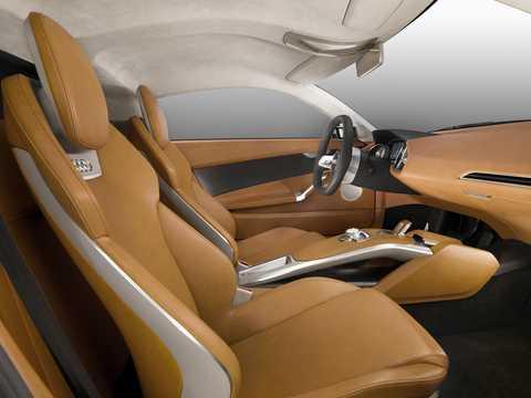 Interior of Audi e-Tron Detroit Showcar Electric Single Speed, 204hp, 2010