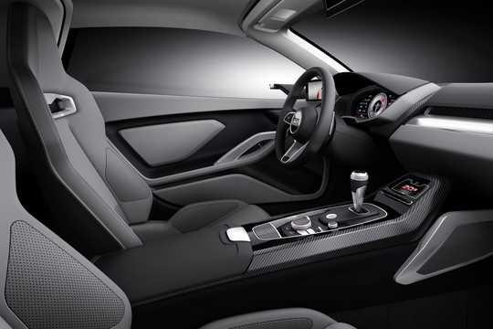 Interior of Audi nanuk quattro 5.0 V10 TDI quattro S Tronic, 544hp, 2013
