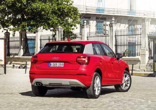 Back/Side of Audi Q2 1.4 TFSI COD Manual, 150hp, 2017
