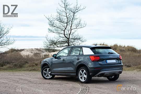 Back/Side of Audi Q2 1.4 TFSI COD S Tronic, 150ps, 2018