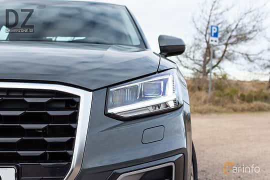 Close-up of Audi Q2 1.4 TFSI COD S Tronic, 150ps, 2018