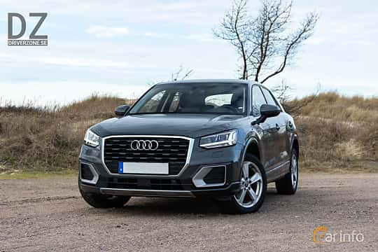 Front/Side  of Audi Q2 1.4 TFSI COD S Tronic, 150ps, 2018