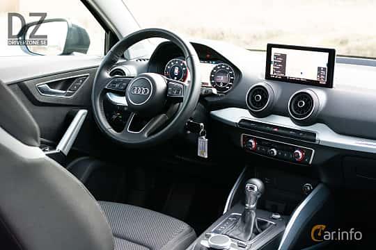 Interior of Audi Q2 1.4 TFSI COD S Tronic, 150ps, 2018