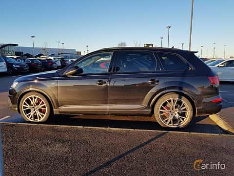 Side  of Audi SQ7 4.0 TDI V8 quattro TipTronic, 435ps, 2017
