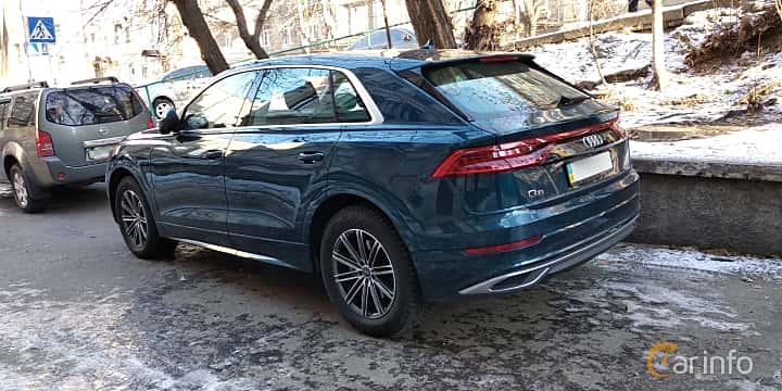 Bak/Sida av Audi Q8 2019