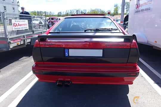 Back of Audi quattro 2.1 quattro Manual, 200ps, 1983 at Riksettanrallyt 2015