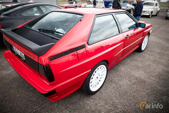 Back/Side of Audi quattro 2.1 quattro Manual, 200ps, 1983 at Fly ´n´ Ride 2015