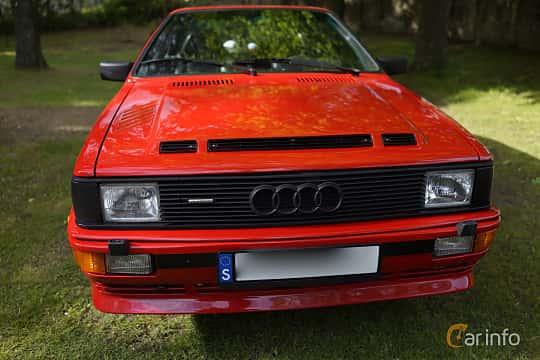Front  of Audi quattro 2.1 quattro Manual, 200ps, 1983 at Billesholms Veteranbilsträff Maj / 2015