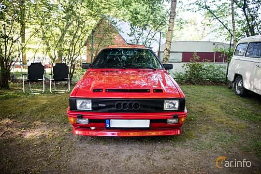 Front  of Audi quattro 2.1 quattro Manual, 200ps, 1983 at Billesholms Veteranbilsträff Maj / 2016
