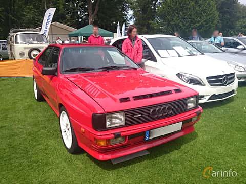Front/Side  of Audi quattro 2.1 quattro Manual, 200ps, 1983 at Sofiero Classic 2014