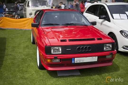 Front  of Audi quattro 2.1 quattro Manual, 200ps, 1983 at Sofiero Classic 2014