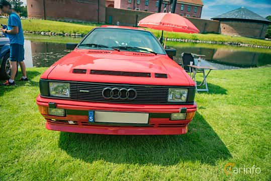 Front  of Audi quattro 2.1 quattro Manual, 200ps, 1983 at Thulinträffen 2016