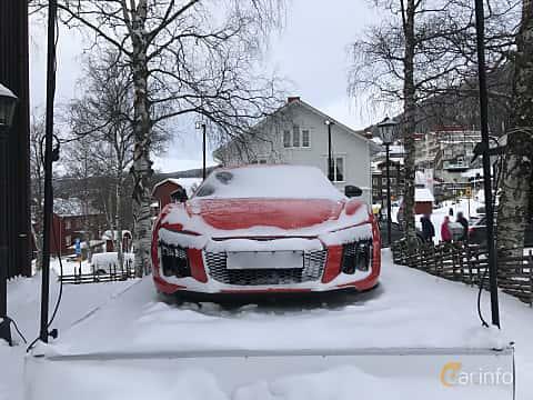 Fram av Audi R8 Coupé 5.2 V10 FSI quattro S Tronic, 540ps, 2017