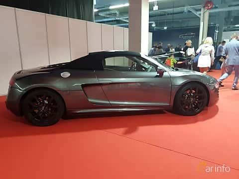 Side  of Audi R8 Spyder at Warsawa Motorshow 2018