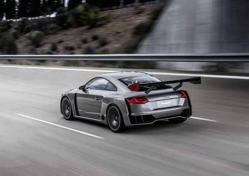 Back/Side of Audi TT Clubsport turbo 2.5 TFSI quattro Manual, 608hp, 2015