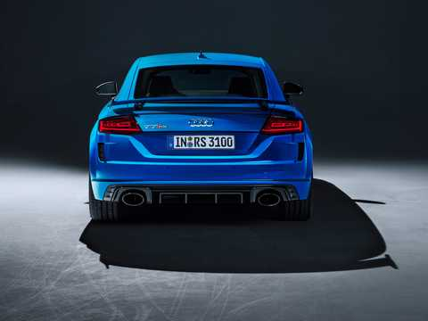 Back of Audi TT RS Coupé TFSI  S Tronic, 400hp, 2019