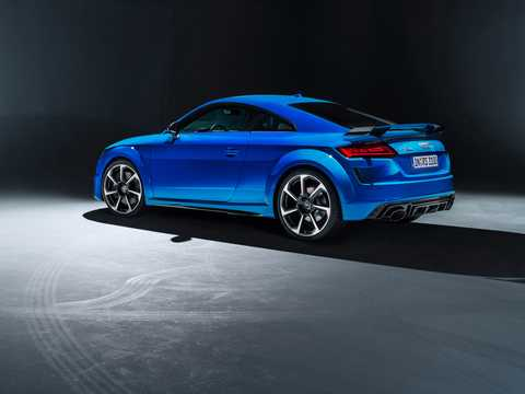 Back/Side of Audi TT RS Coupé TFSI  S Tronic, 400hp, 2019