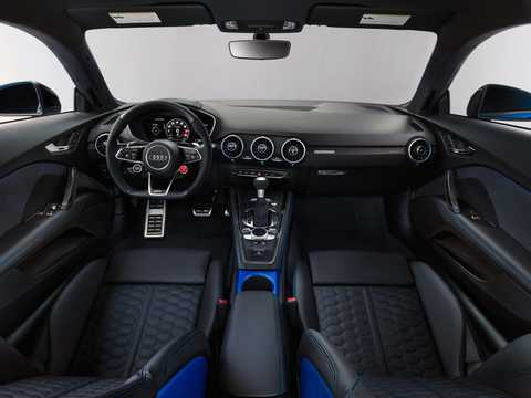 Interior of Audi TT RS Coupé TFSI  S Tronic, 400hp, 2019