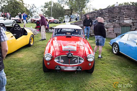 Front  of Austin-Healey 3000 2.9 Manual, 126ps, 1961 at Sportvagnsträffen 2016