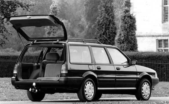 Back/Side of Austin Montego Estate 1988