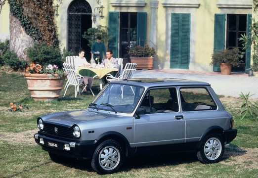 Front/Side  of Autobianchi A112 Serie VII