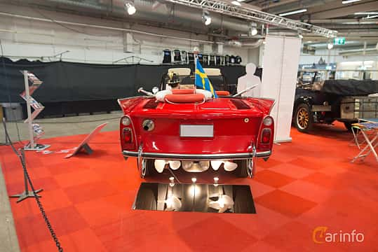 Back of Amphicar Amphicar 1.1 Manual, 39ps, 1968 at Bilsport Performance & Custom Motor Show 2018